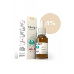 Huile de CBD Bio 4% - 50ml - Cibdol