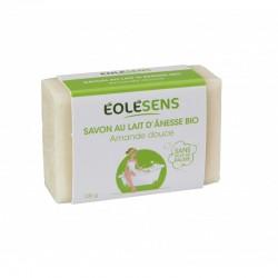 Savon au Lait d'Ânesse Bio Amande Douce - 100gr - Eolésens