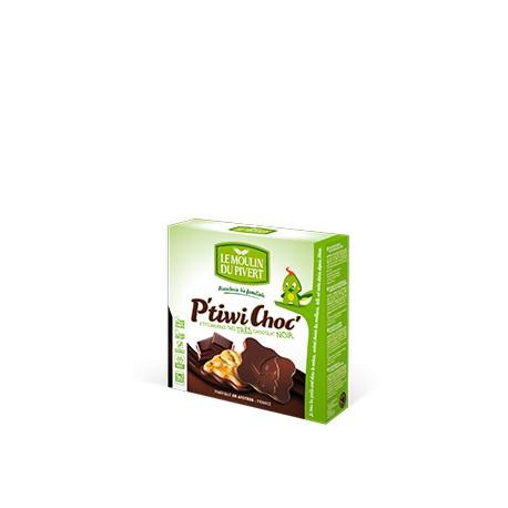 P'tiwi Choc' Bio Chocolat Noir 125g-Le Moulin du Pivert