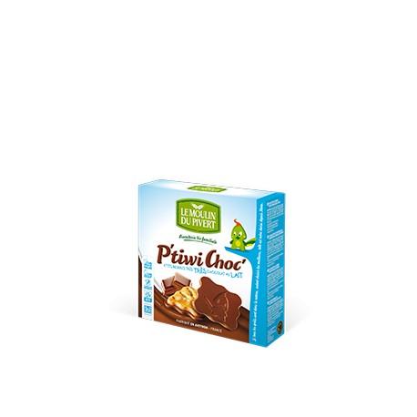 P'tiwi Choc' Bio Chocolat au Lait 125g-Le Moulin du Pivert