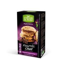 Fourrés Choc' Bio Chocolat Noir 175g-Le Moulin du Pivert