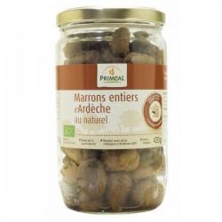 Marrons entiers d'Ardèche au naturel - 420g - Priméal