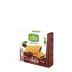TwiBio Chocolat, Biscuits fourrés Bio 150g-Le Moulin du Pivert