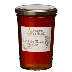 Miel de Thym Bio d'Espagne - 500g - Terre de Miel