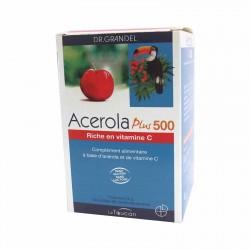 Acerola Plus 500 - 96 Comprimés -Dr Grandel Le toucan