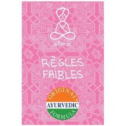 Règles Faibles Bio - 20 Sachets - Atma
