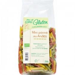 Mini Penne des Andes Sans Gluten 250g-Ma Vie Sans Gluten