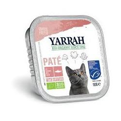 Pâté Saumon Bio Chat - 100gr - Yarrah