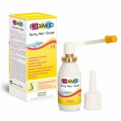 Pediakid Spray Nez-Gorge - 20ml - Laboratoire Ineldea