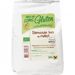Semoule Bio de Millet 500g-Ma Vie Sans Gluten
