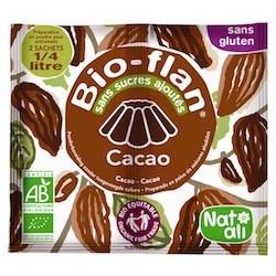 Bio-Flan Cacao - 2x11gr - Nat Ali