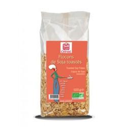 Flocons de Soja toastés, Celnat, 500g