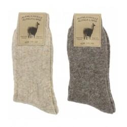 Chaussettes Alpaga-Laine - 2 paires - Textiles Vertrauen