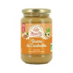 Beurre de Cacahuète Crunchy - 350gr - Mamie Bio