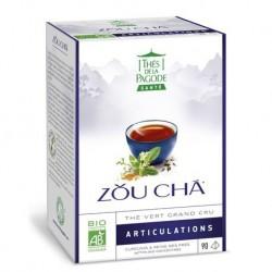 Zou Cha Thé Vert Grand Cru Articulations - 90 Infusettes - Thés de la Pagode