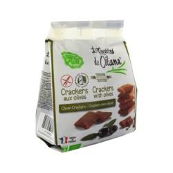 Crackers aux Olives Sans Gluten 60g-Les Recettes de Céliane
