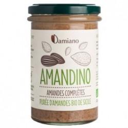 Amandino Purée d'Amande Complètes Bio - 275g - Damiano