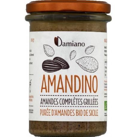 Amandino Purée d'Amande Complètes Grillées - 750g - Damiano