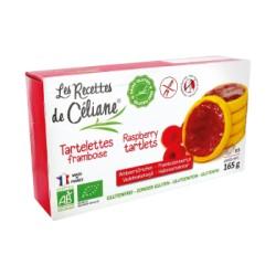 Tartelettes Framboise Sans Gluten 165g-Les Recettes de Céliane