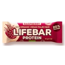Lifebar Protein Raspberry - 47g - Lifefood