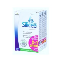 Lot 2+1 Offert Silicea Original - 30 Gélules - Hübner