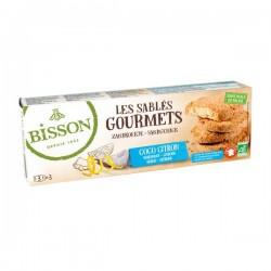 Les Sablés Gourmets Coco Citron - 150g - Bisson