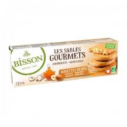 Les Sablés Gourmets Noisettes Erable - 150g - Bisson