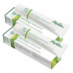 Dentifrice Haleine Pure - 2x75ml - Melvita