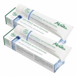 Dentifrice Dents Blanches - 2x75ml - Melvita