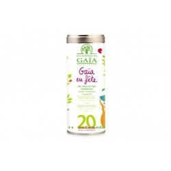 Gaia en fête, Thé Vert et Noir 100g-Les Jardins de Gaia