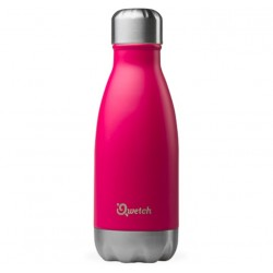 Bouteille Nomade Isotherme - Magenta - 260ml - Qwetch