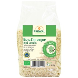 Riz Rond Complet de Camargue 500g-Priméal