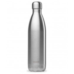 Bouteille Nomade Isotherme - Inox - 750ml - Qwetch