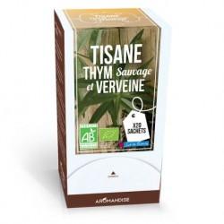 Tisane Thym Sauvage Verveine Bio - 20 Sachets - Aromandise
