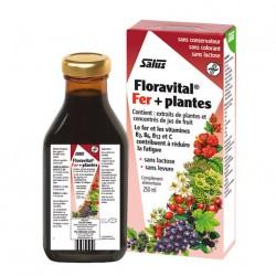 Floravital Fer + Plantes - 250ml - Salus