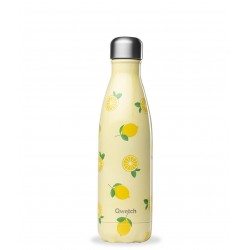 Bouteille Nomade Isotherme - Fruits Citron - 500ml - Qwetch