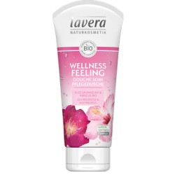 Wellness Feeling Douche Soin Rose et Hibiscus Bio - 200ml - Lavera