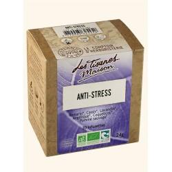 Tisane anti stress - 20 infusettes- Le Comptoir d'Herboristerie