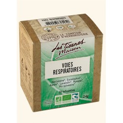 Tisane Voies Respiratoires - 20 infusettes- Le Comptoir d'Herboristerie