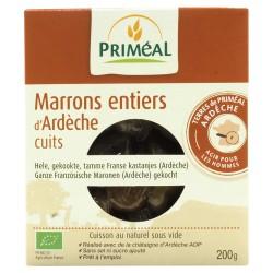 Marrons entiers d'Ardèche cuits 200g-Priméal