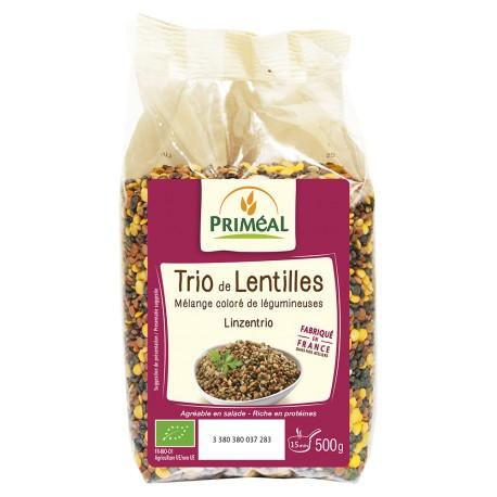 Trio de Lentilles 500g-Priméal
