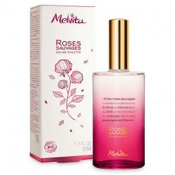Eau de Toilette Roses Sauvage - 50ml - Melvita