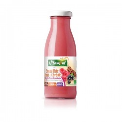 Smoothie Bio Sorgho Cassis Framboise - 25cl - Vitamont