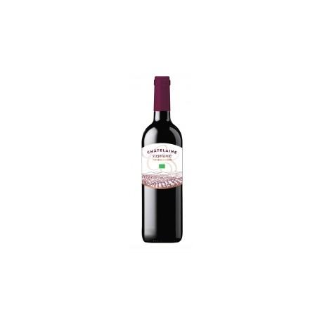 Vin Rouge Bio Châtelaine Stéphanie - 75cl - Terroirs Vivants