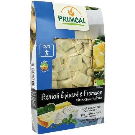 Ravioli Epinard & Fromage 250g-Priméal