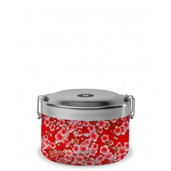 Boite Bento Isotherme - Flower Rouge - Qwetch