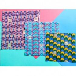 Emballage Réutilisable Graphique - 3 Pièces - Cosse