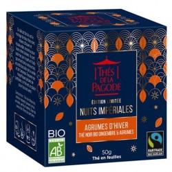 Edition Limitée Nuit Impériale Agrumes d'Hiver - 50g - Thés de la Pagode