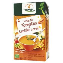 Velouté Tomates & Lentilles corail 1L-Priméal