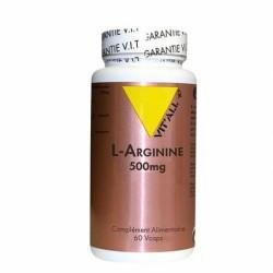 L-Arginine 500mg - 60 Gélules - Vit'All+